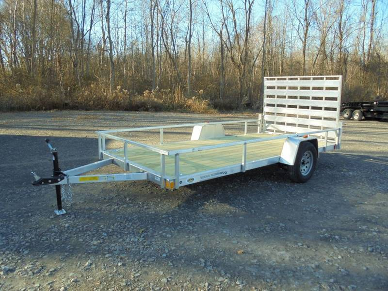 2018 Rough Rider RRU6514SA Aluminum 14' Trailer