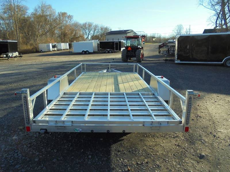 2018 Other Rough Rider RRU6514SA Aluminum 14' Trailer in Howell, Michigan