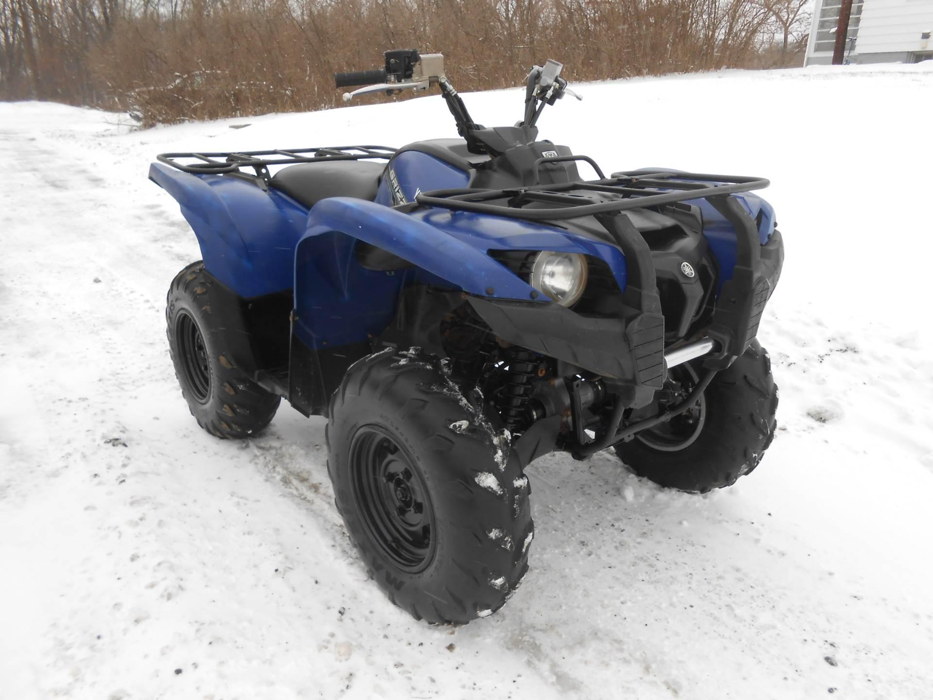 2012 Grizzly 700 FI Auto. 4x4 EPS