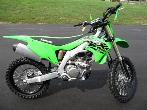 2021 Kawasaki KX 250 in Howell, Michigan - Photo 10