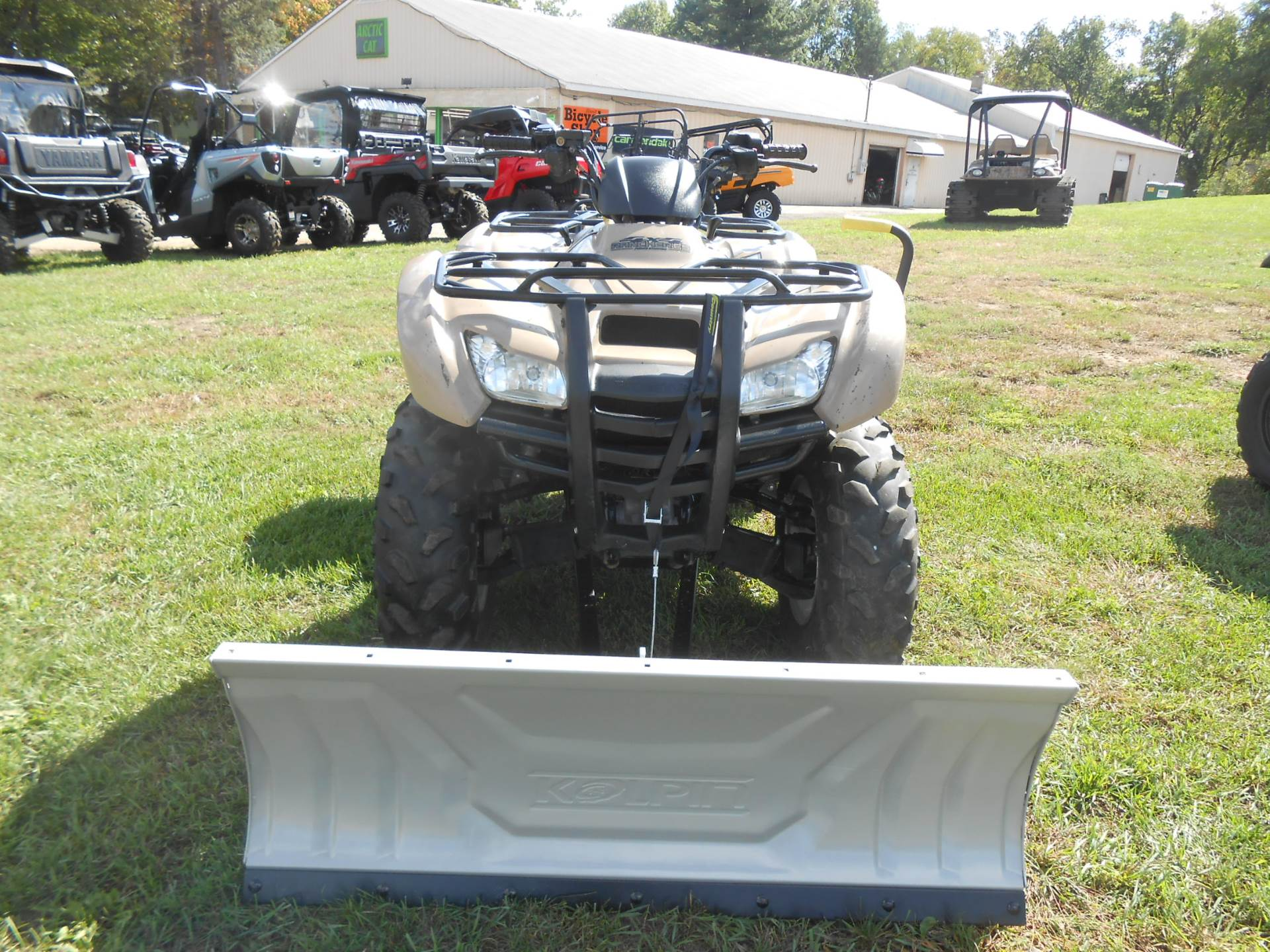 2011 Honda FourTrax® Rancher® 4x4 ES EPS in Howell, Michigan