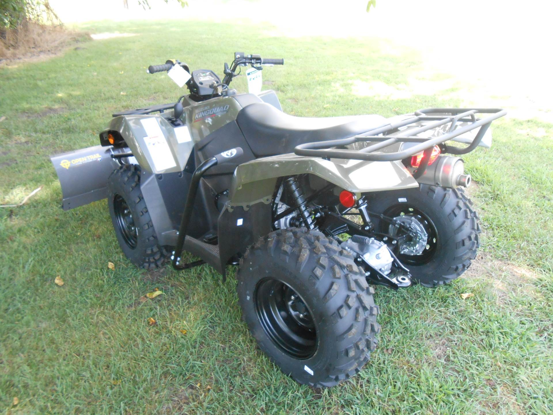 2019 Suzuki KingQuad 400ASi in Howell, Michigan - Photo 8