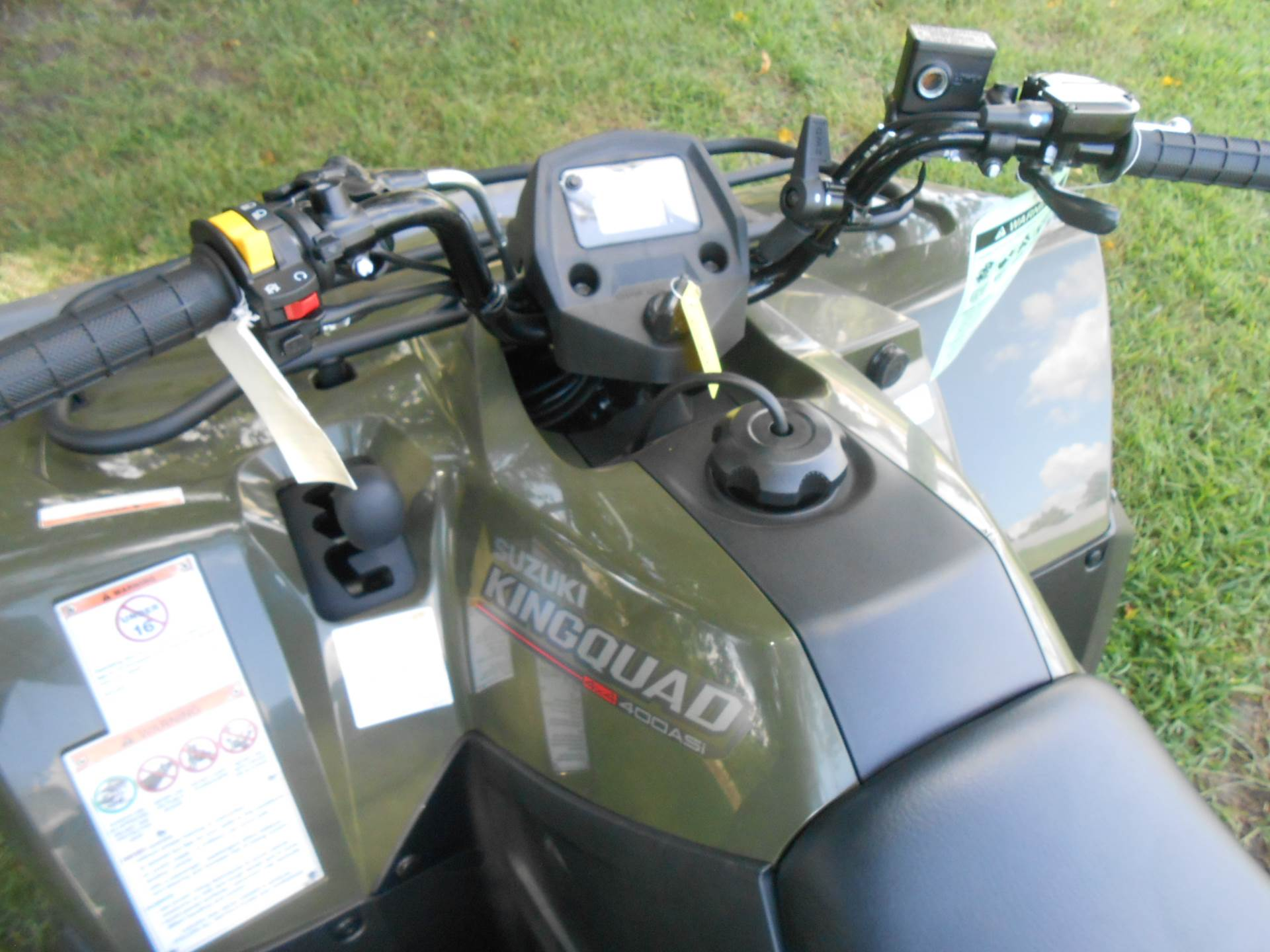 2019 Suzuki KingQuad 400ASi in Howell, Michigan - Photo 9