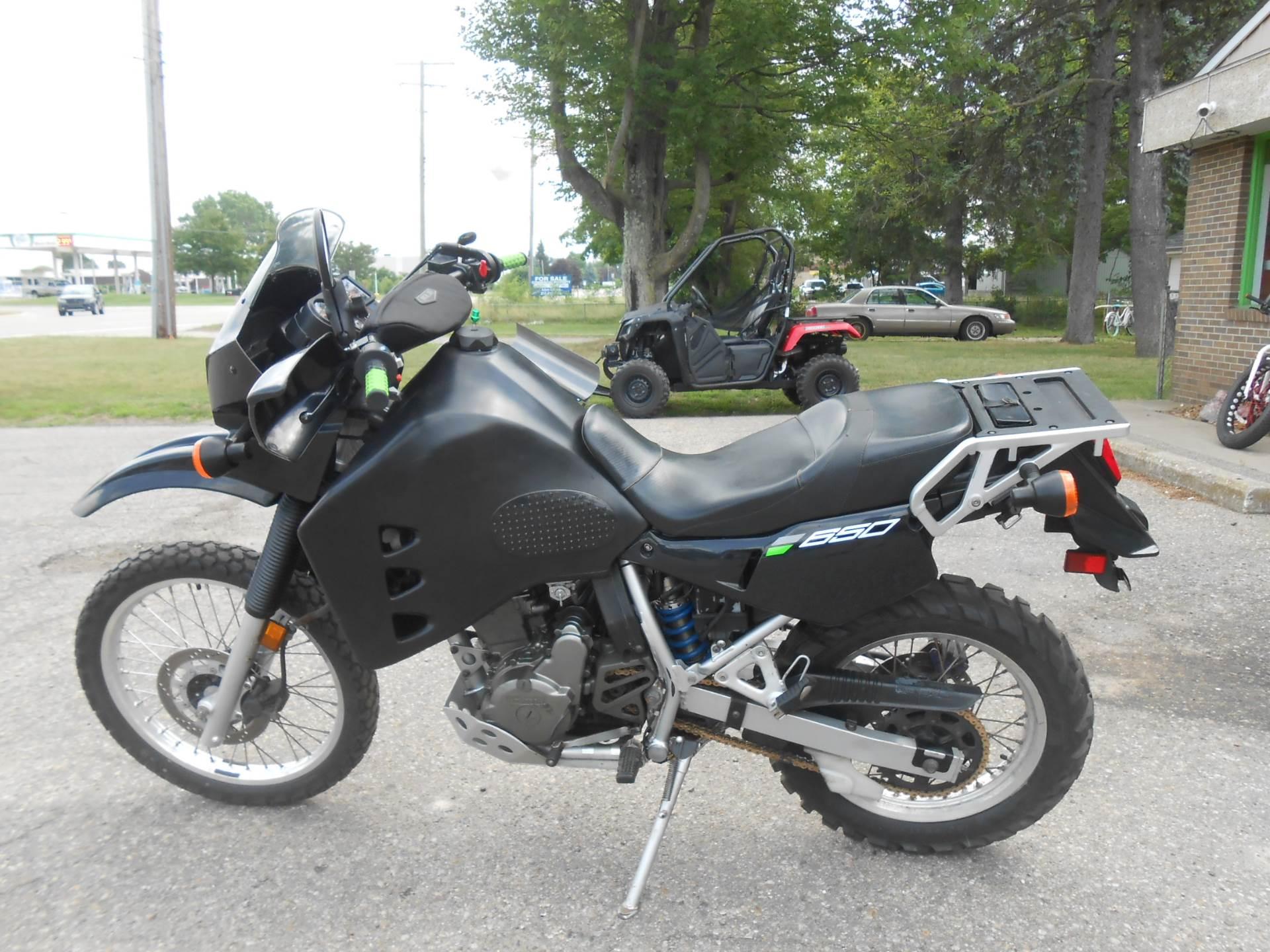 2007 Kawasaki KLR 650 7