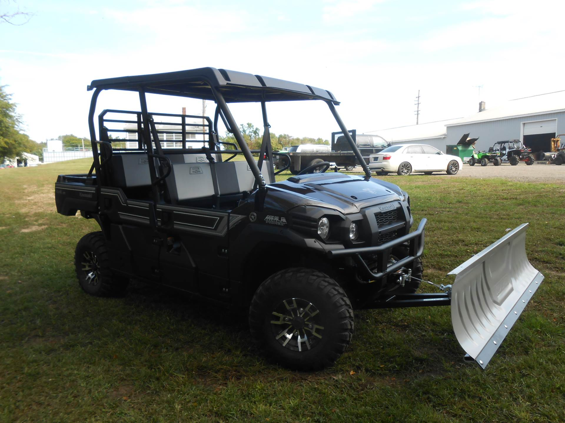 2020 Kawasaki Mule PRO-FXT Ranch Edition in Howell, Michigan - Photo 10