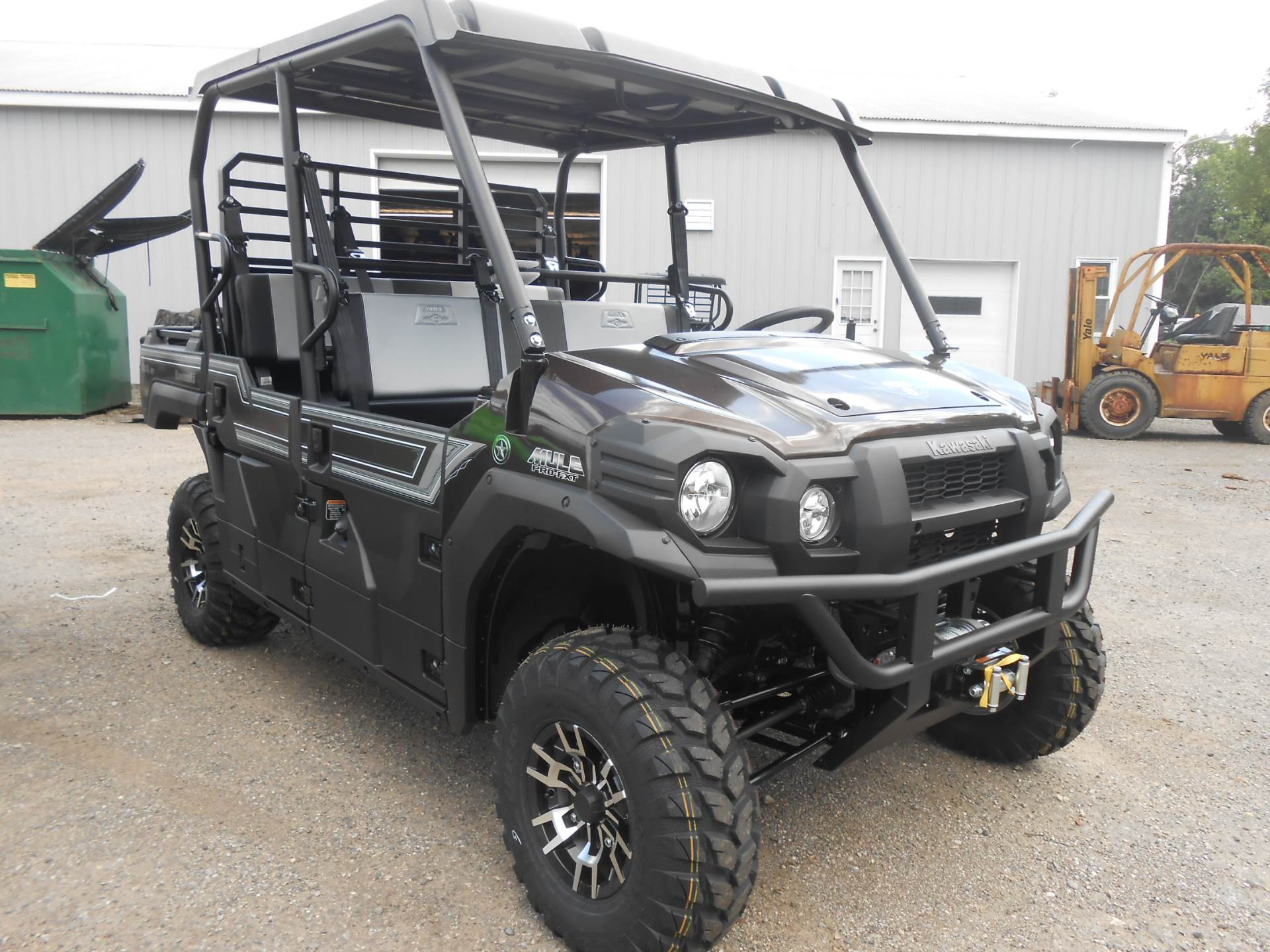 2020 Kawasaki Mule PRO-FXT Ranch Edition 9