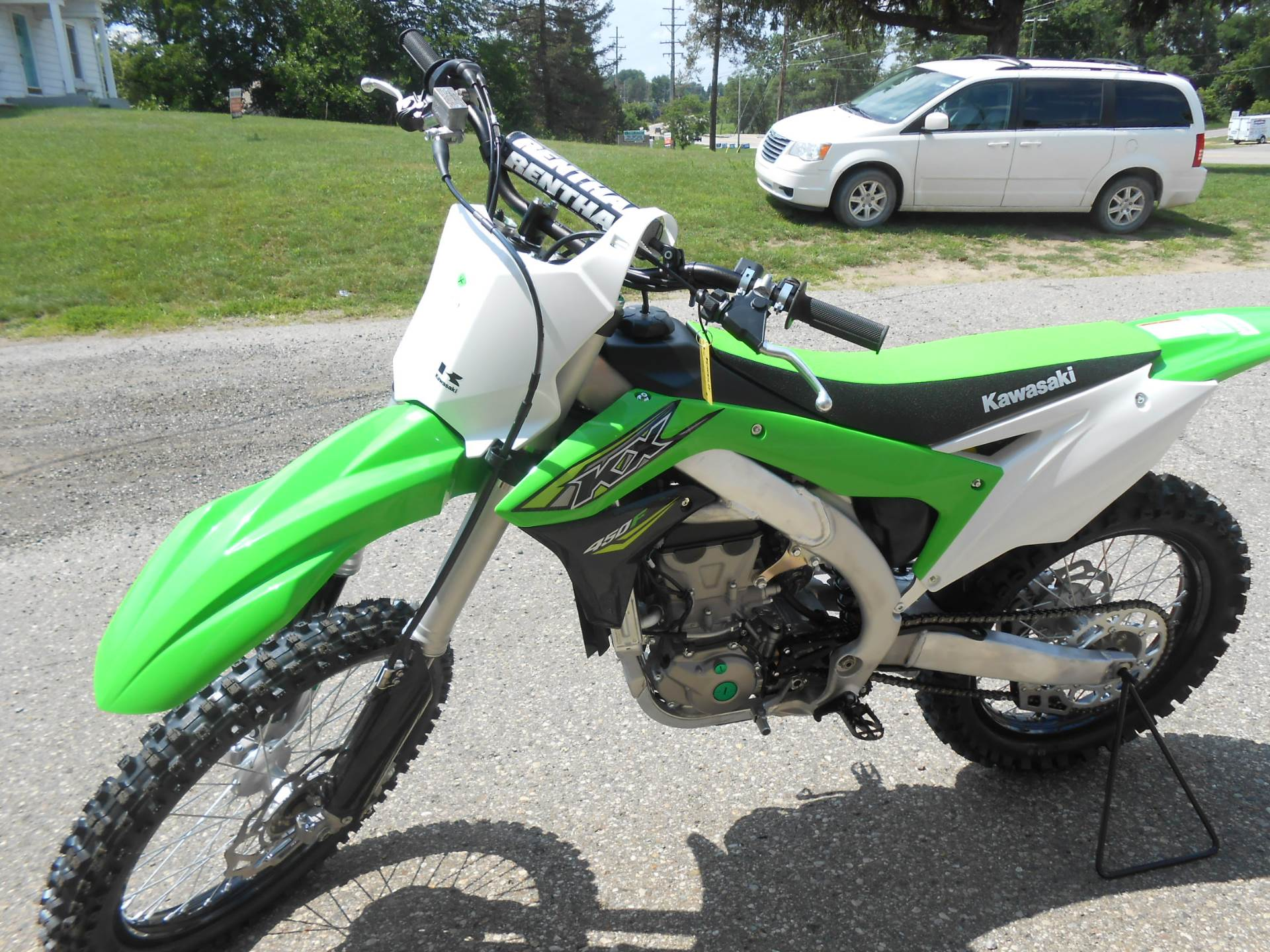 2018 Kawasaki KX 450F in Howell, Michigan
