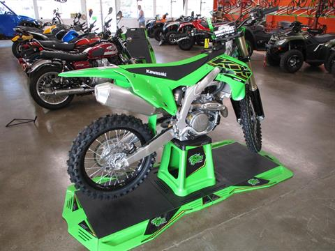 2021 Kawasaki KX 450 in Howell, Michigan - Photo 4
