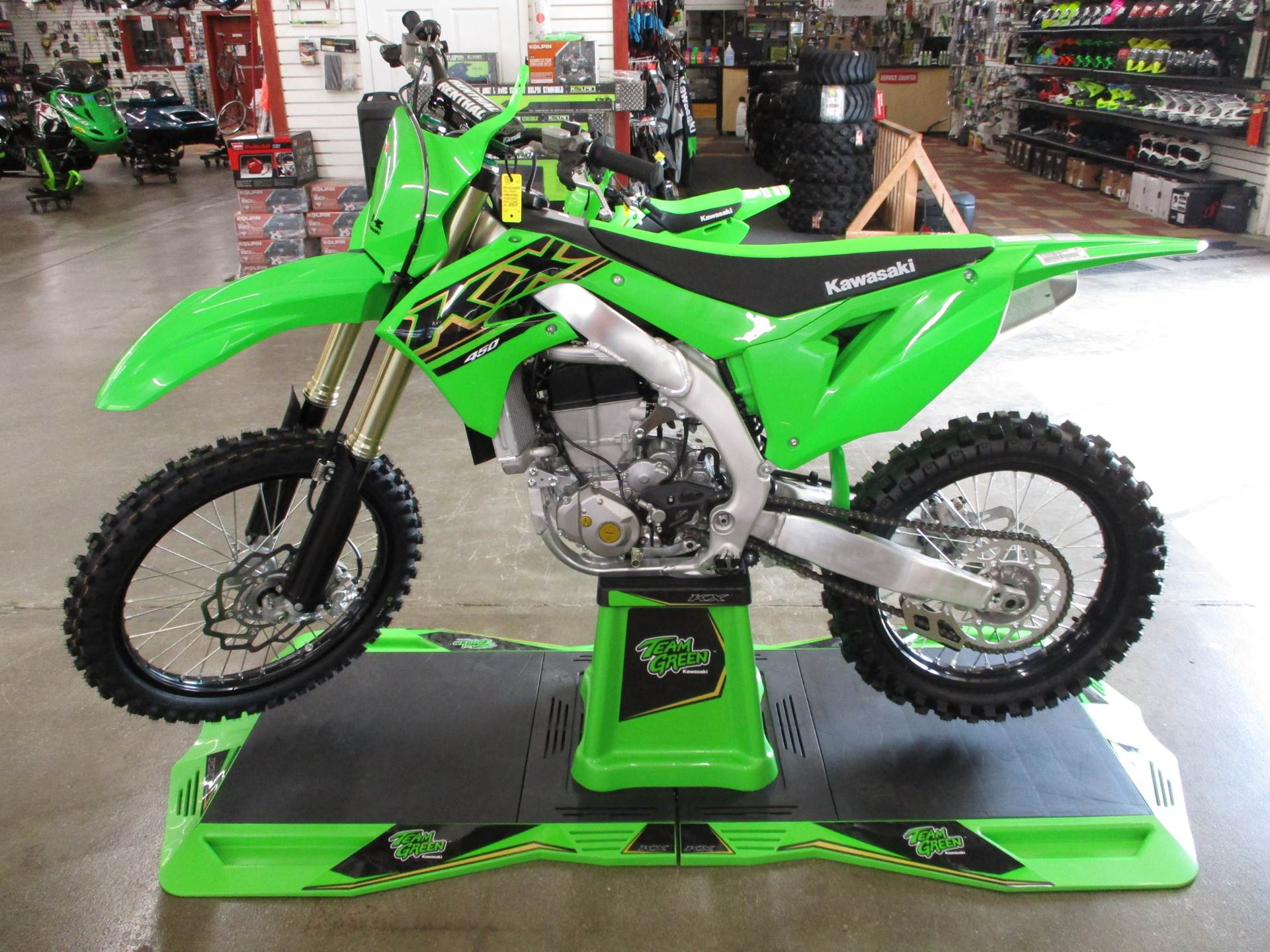 2021 Kawasaki KX 450 in Howell, Michigan - Photo 1