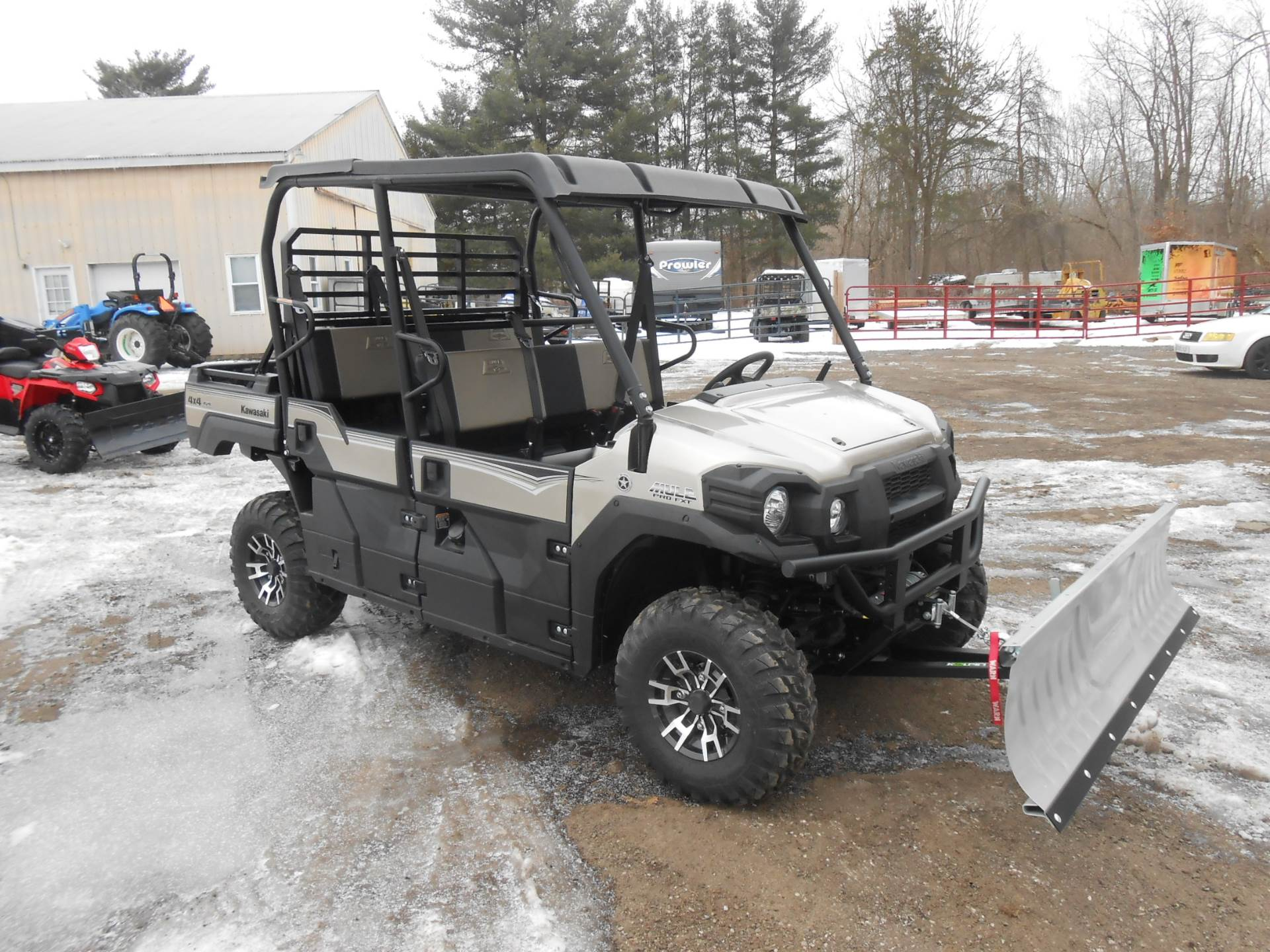 2018 Kawasaki Mule PRO-FXT RANCH EDITION 2