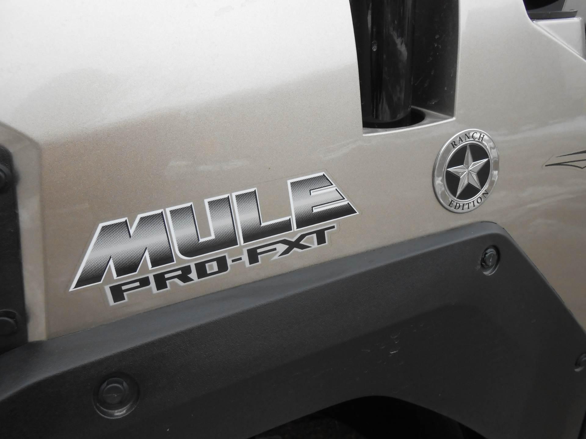 2018 Kawasaki Mule PRO-FXT RANCH EDITION 9