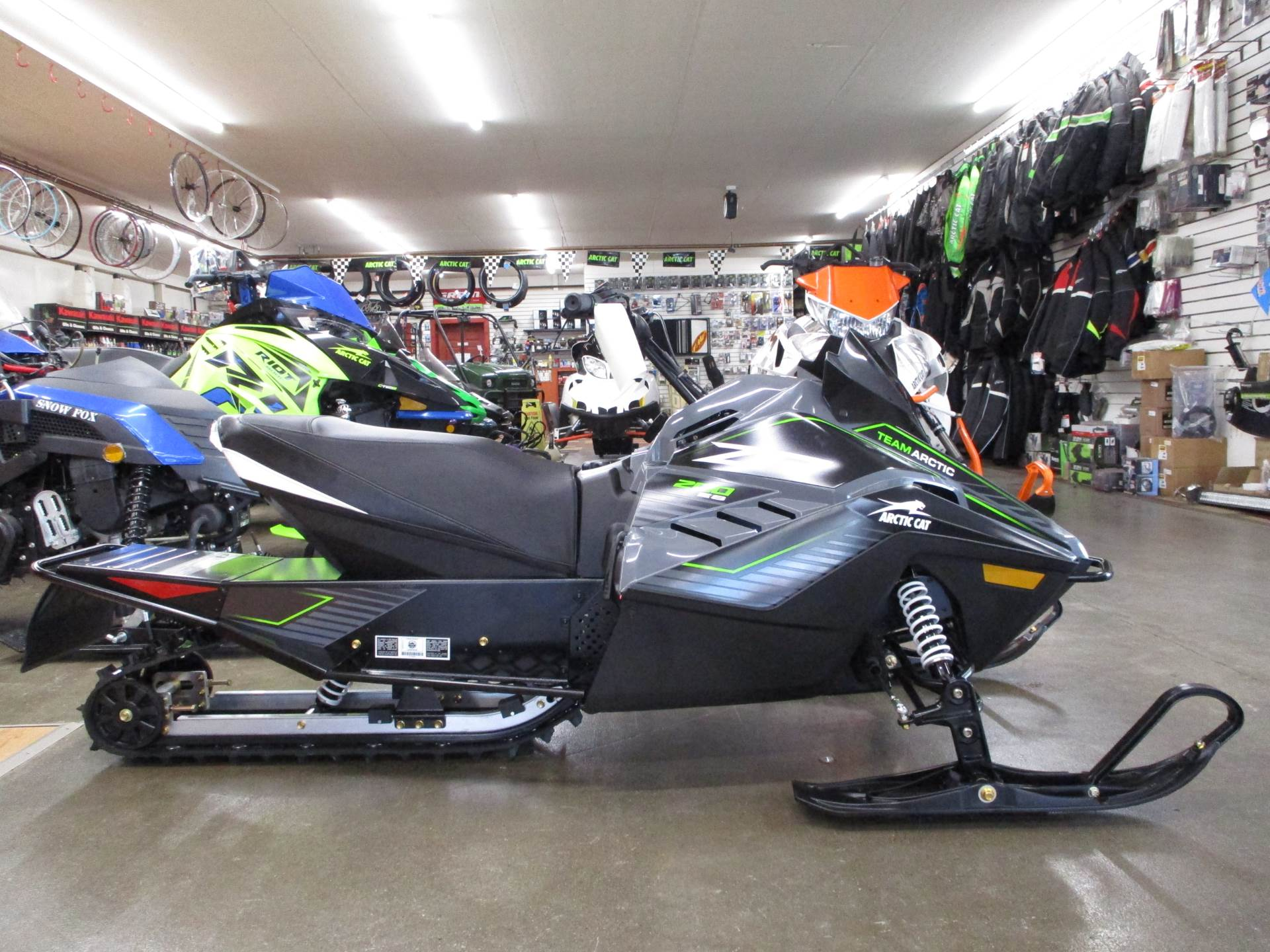 2020 Arctic Cat ZR 200 ES in Howell, Michigan - Photo 2