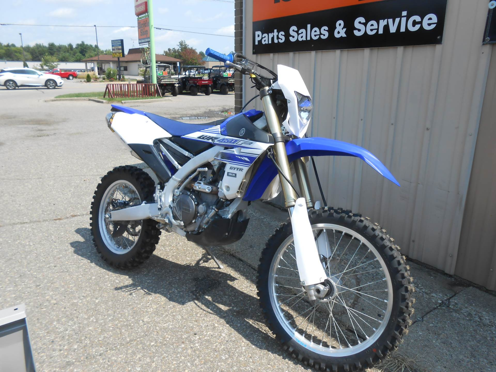 2016 Yamaha WR450F in Howell, Michigan