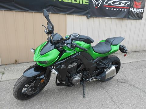 2015 Kawasaki Z1000 ABS in Howell, Michigan