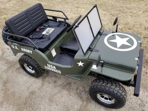 2020 Icebear Thunderbird 125cc Mini Jeep Willys Edition in Howell, Michigan - Photo 3