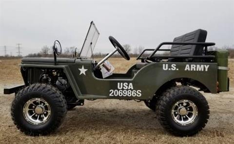 2020 Icebear Thunderbird 125cc Mini Jeep Willys Edition in Howell, Michigan - Photo 5