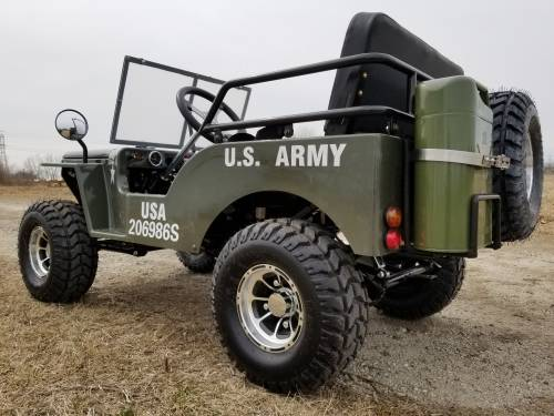 2020 Icebear Thunderbird 125cc Mini Jeep Willys Edition in Howell, Michigan - Photo 7