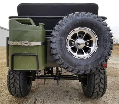 2020 Icebear Thunderbird 125cc Mini Jeep Willys Edition in Howell, Michigan - Photo 8