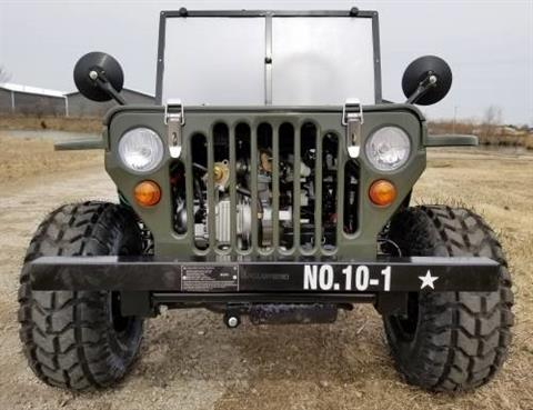 2020 Icebear Thunderbird 125cc Mini Jeep Willys Edition in Howell, Michigan - Photo 9