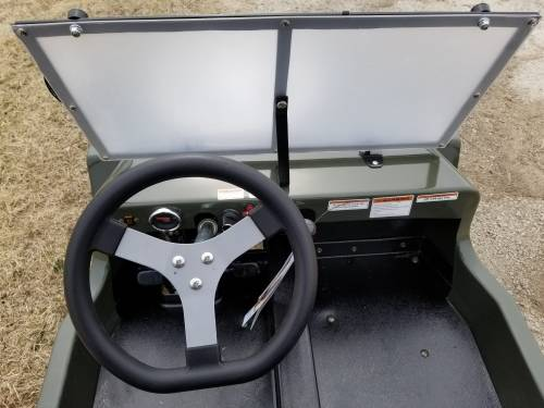 2020 Icebear Thunderbird 125cc Mini Jeep Willys Edition in Howell, Michigan - Photo 12