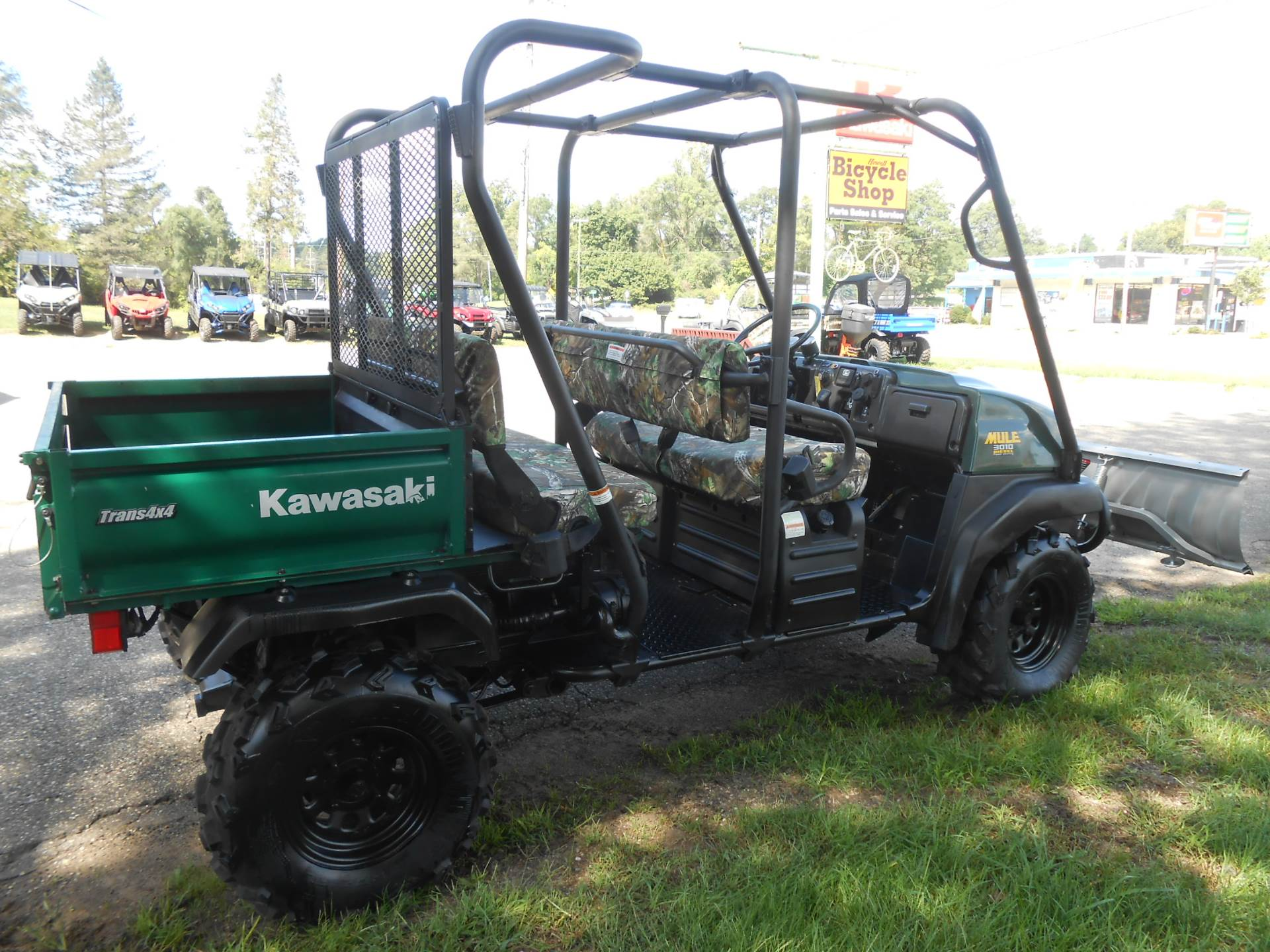 2008 Kawasaki Mule™ 3010 Trans 4x4™ Diesel in Howell, Michigan