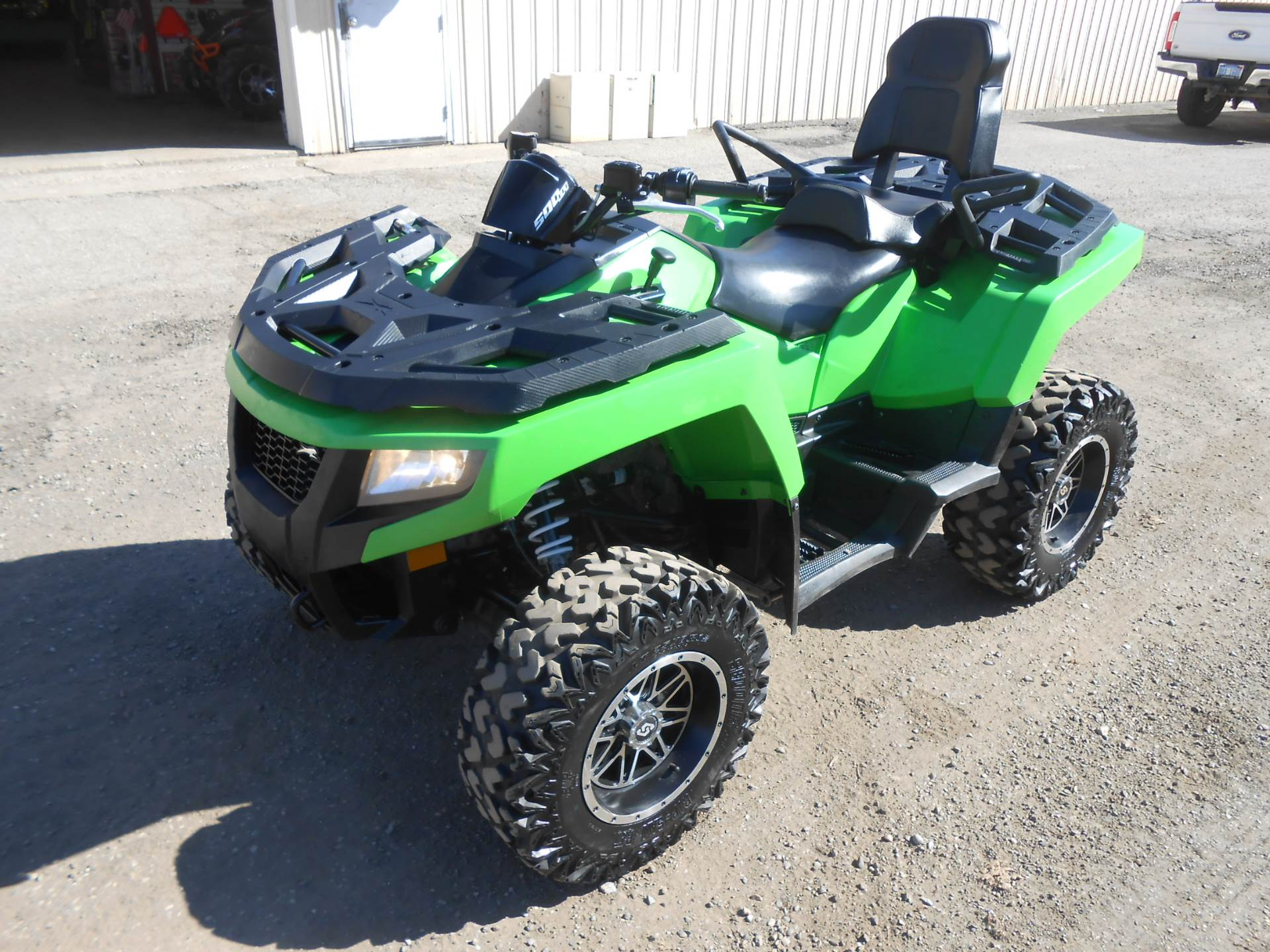 2017 Arctic Cat Alterra Trv 500 In Howell Michigan Photo 1