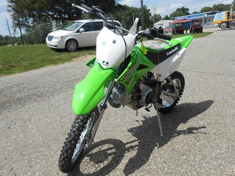 2018 Kawasaki KLX 110L in Howell, Michigan