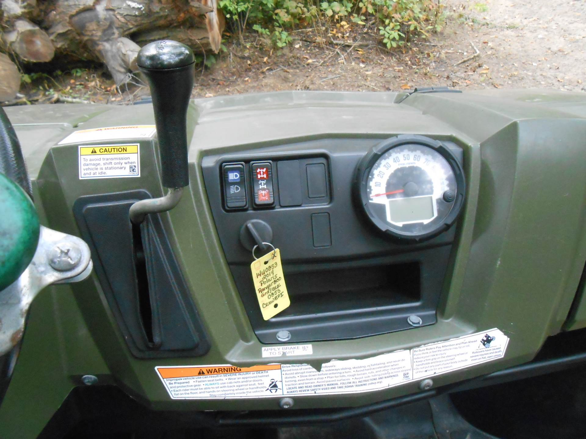 2014 Polaris Ranger Crew® 800 EFI in Howell, Michigan - Photo 24
