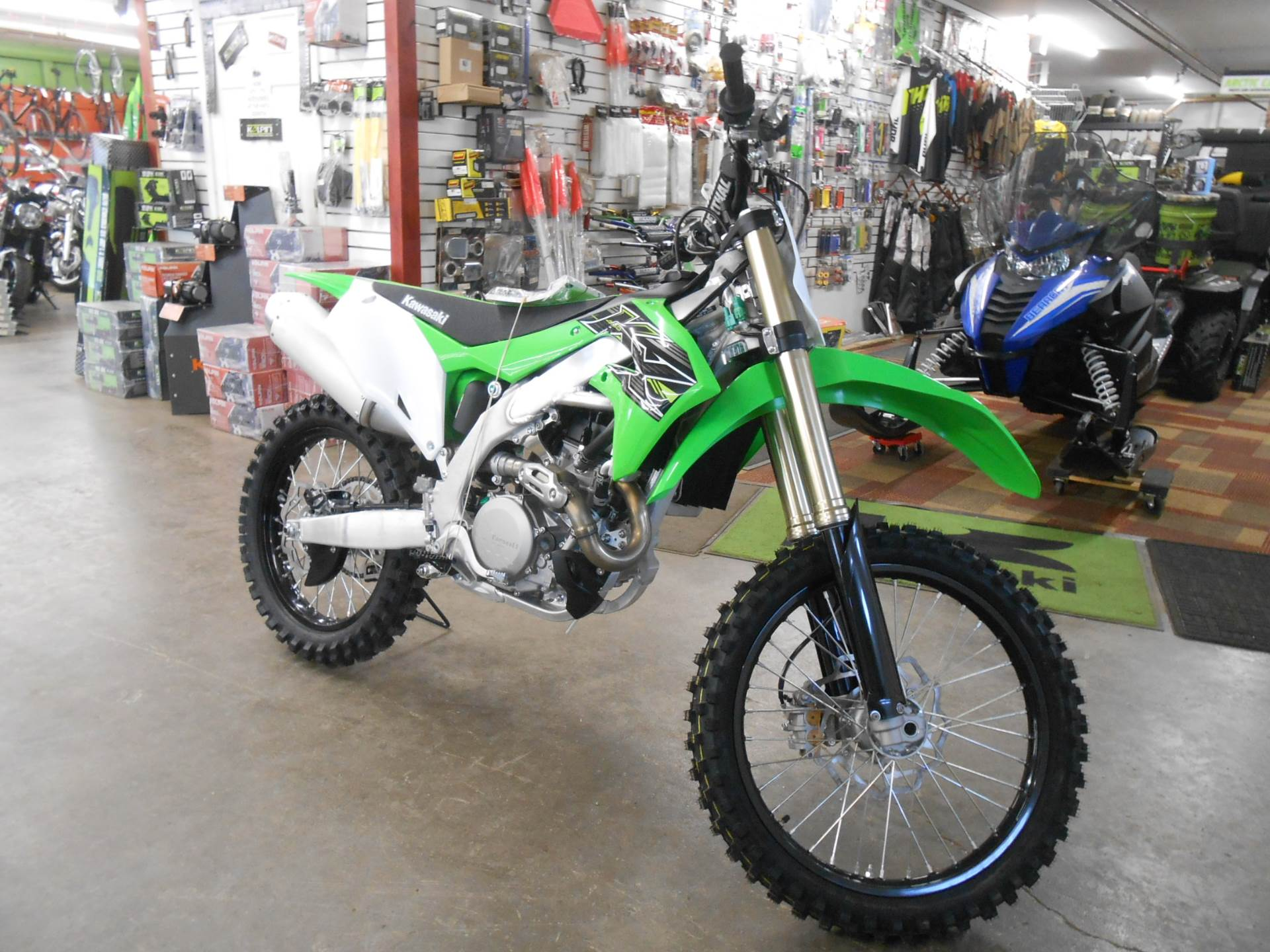 2019 Kawasaki KX 450 in Howell, Michigan - Photo 3