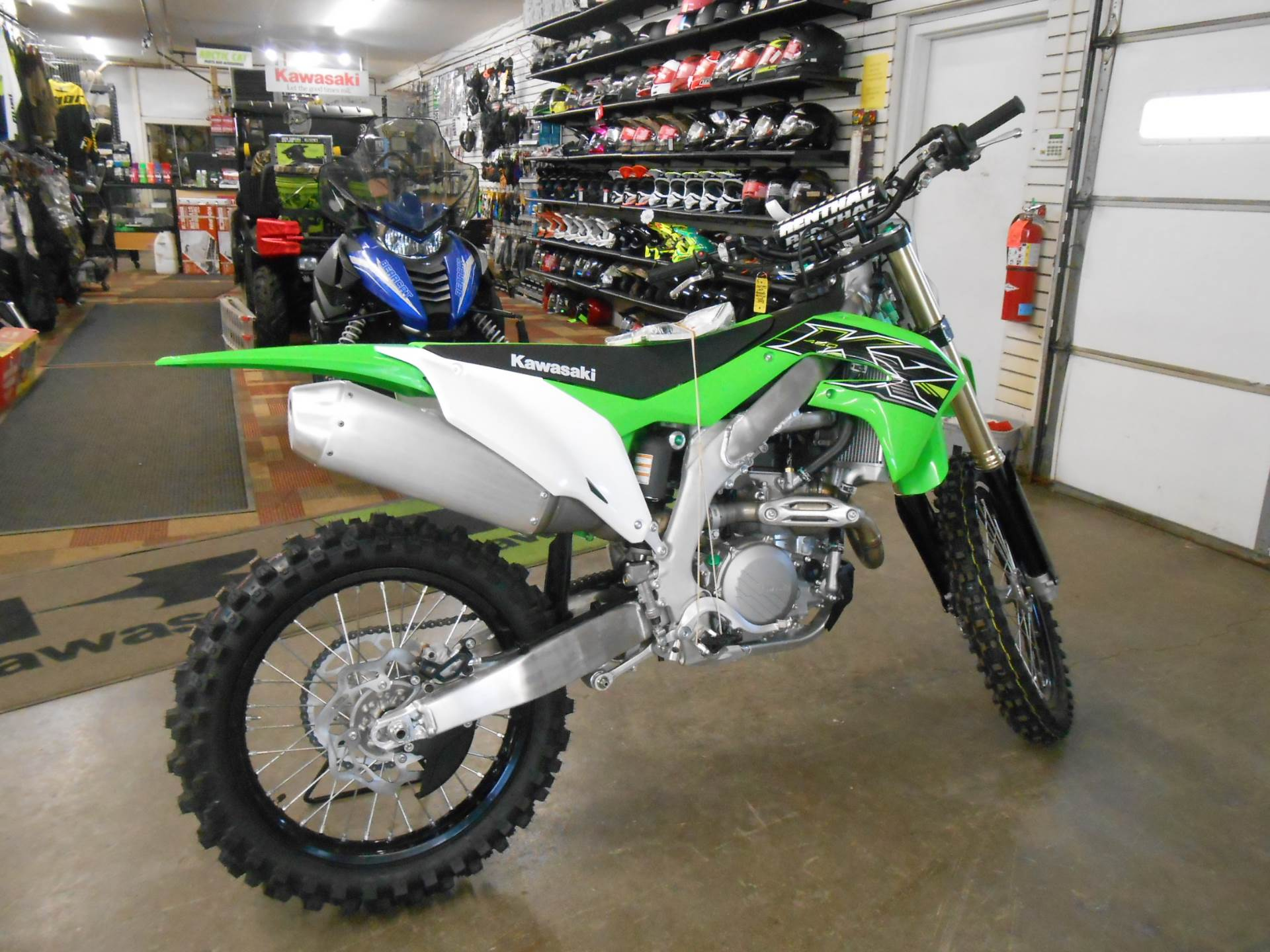 2019 Kawasaki KX 450 in Howell, Michigan - Photo 7