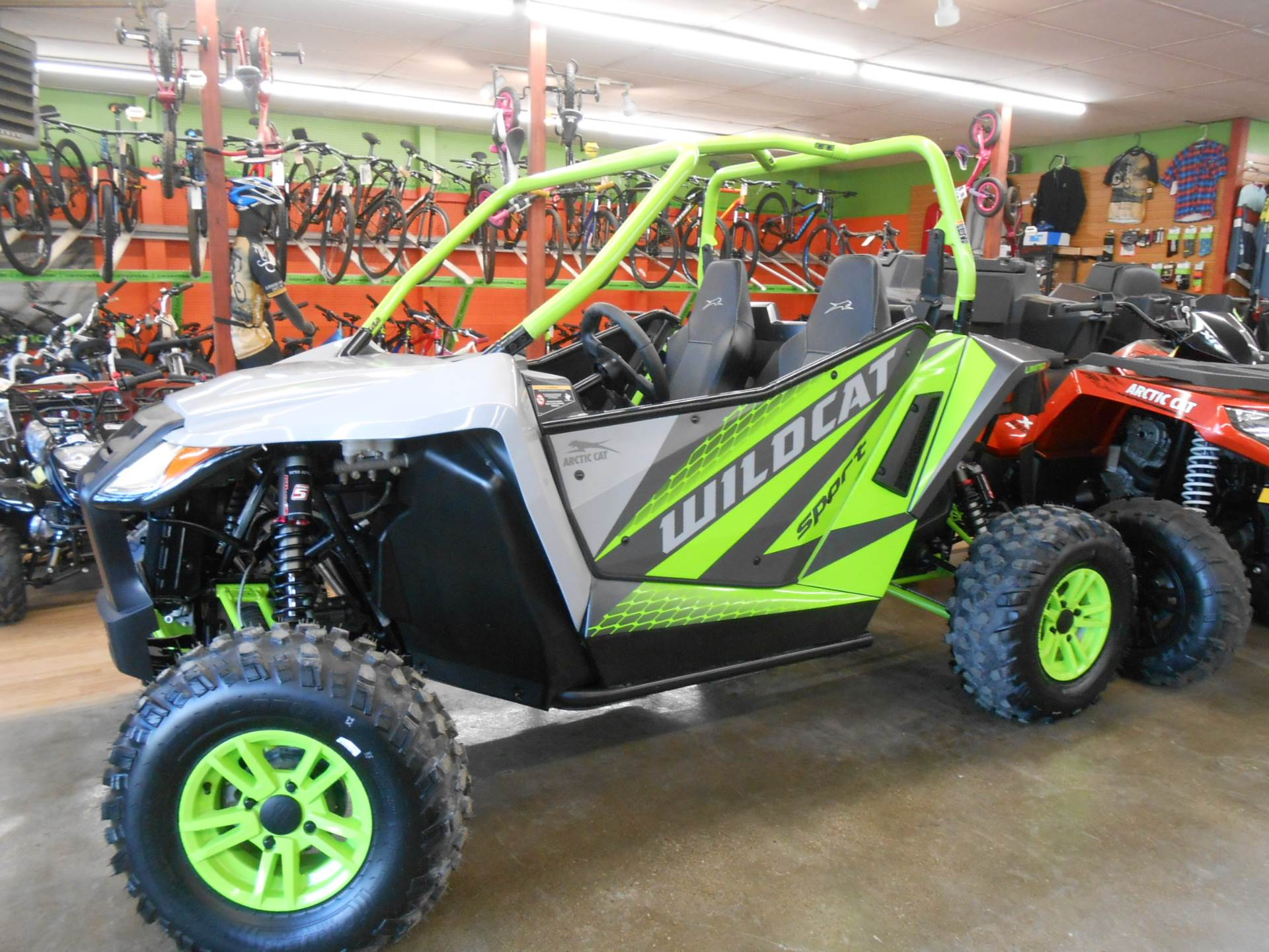 2018 Arctic Cat Wildcat Sport LTD in Howell, Michigan - Photo 7