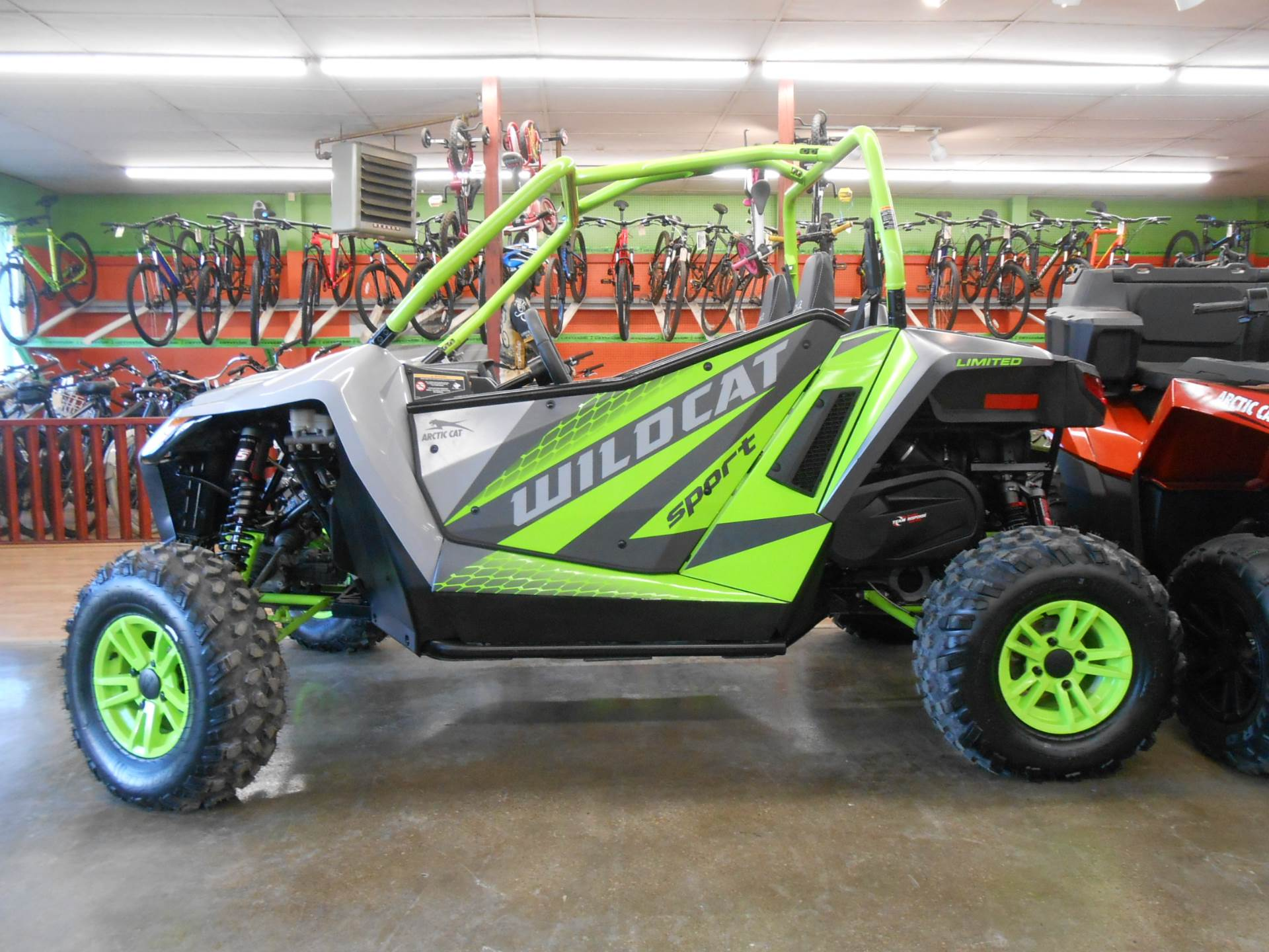 2018 Arctic Cat Wildcat Sport LTD in Howell, Michigan - Photo 2