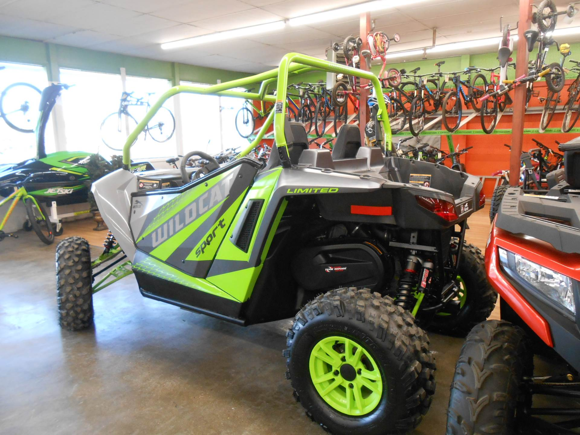 2018 Arctic Cat Wildcat Sport LTD in Howell, Michigan - Photo 8