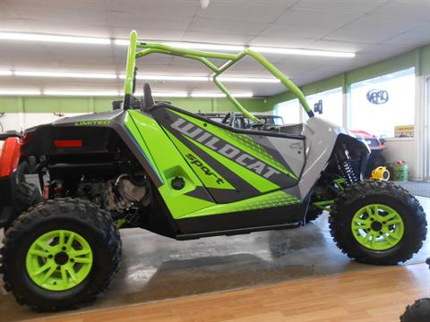 2018 Arctic Cat Wildcat Sport LTD in Howell, Michigan - Photo 4
