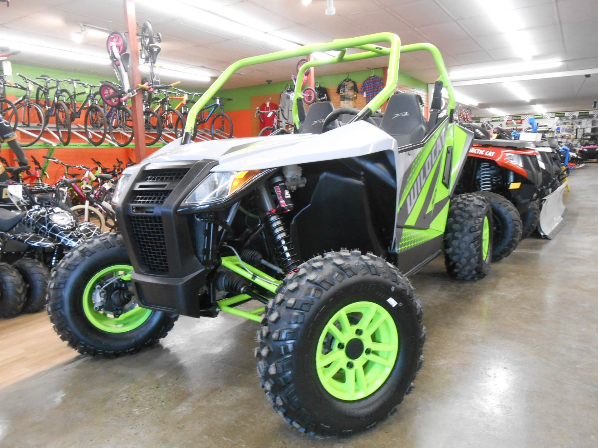 2018 Arctic Cat Wildcat Sport LTD in Howell, Michigan - Photo 9