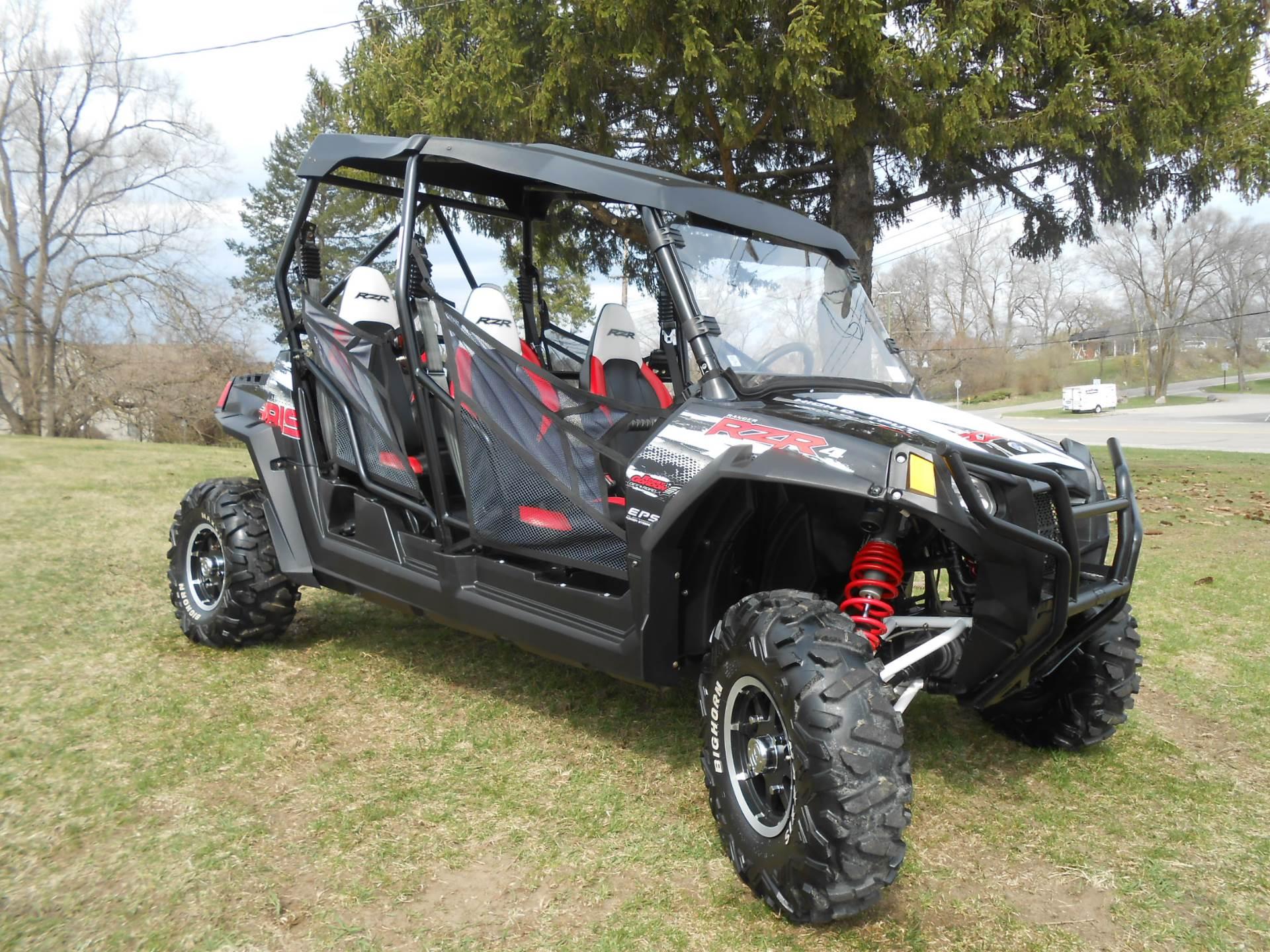 2012 Ranger RZR 4 800 EPS Robby Gordon Edition