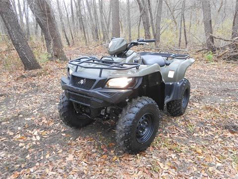2018 Suzuki KingQuad 500AXi Power Steering in Howell, Michigan