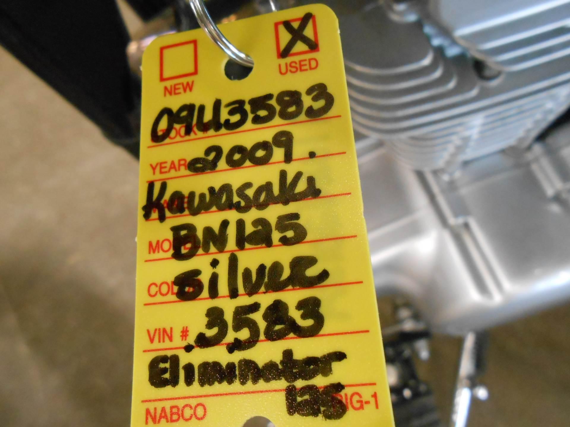 2009 Kawasaki Eliminator 125 9