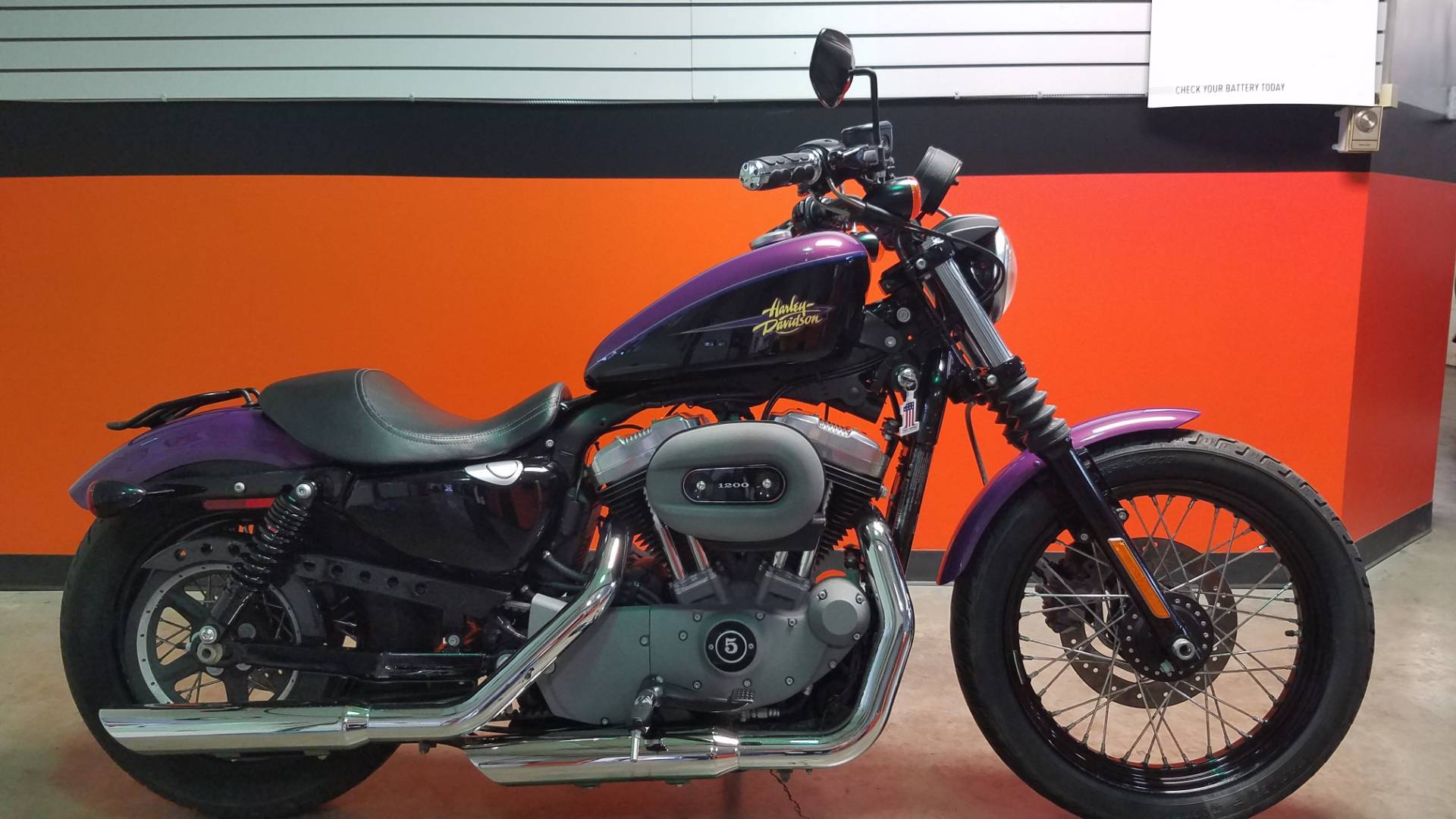 2011 Harley-Davidson Sportster® 1200 Nightster® in Cayuta, New York - Photo 1