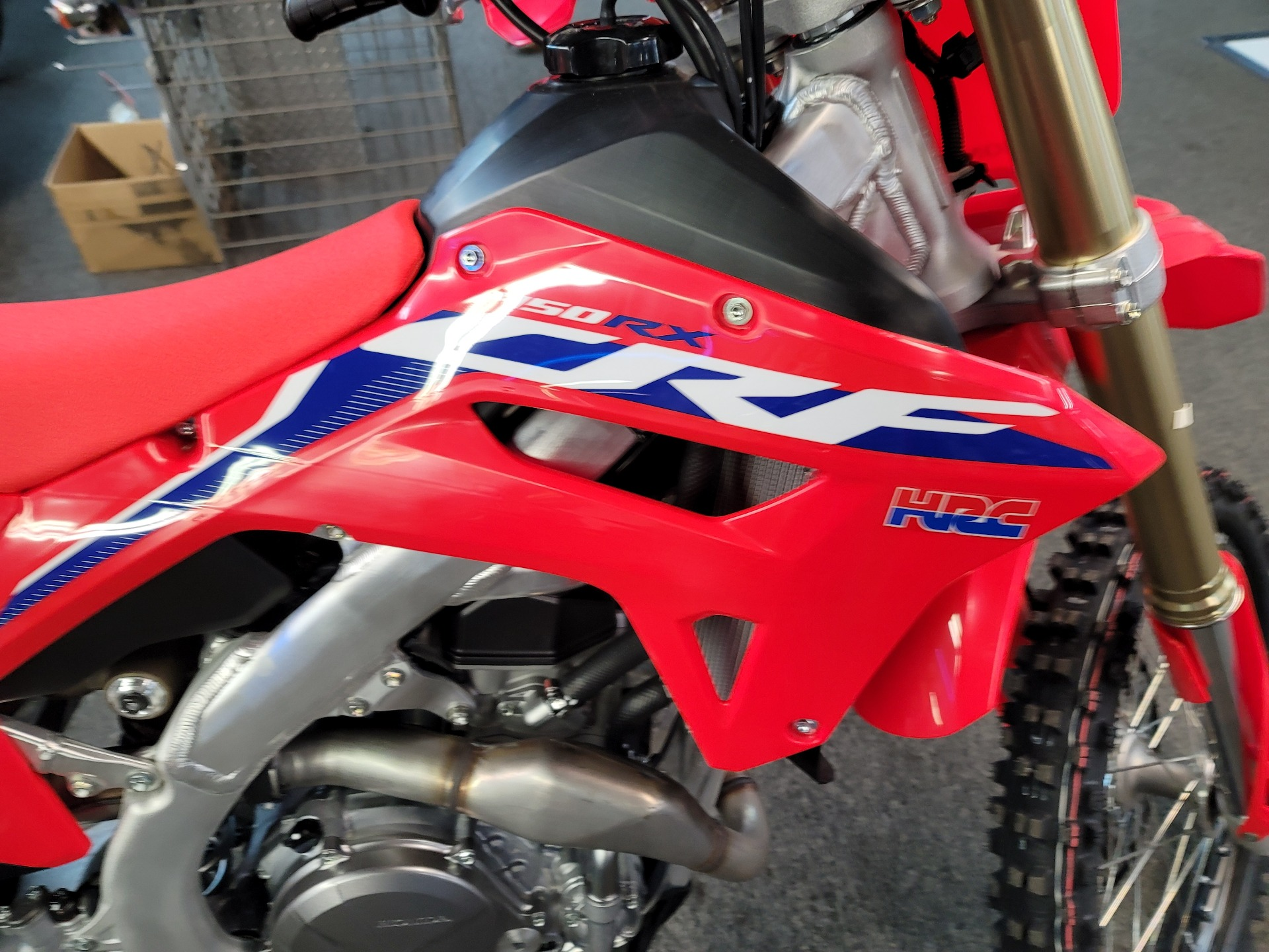 2021 Honda CRF450RX in Ashland, Kentucky - Photo 2