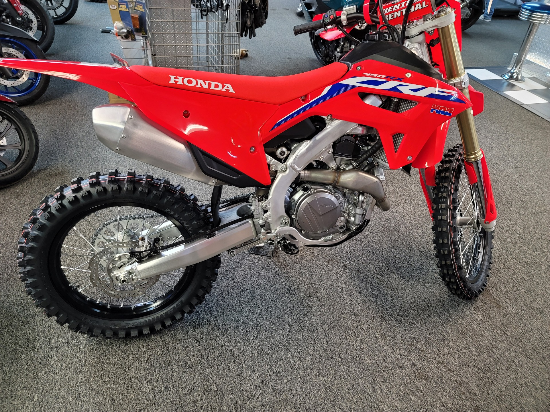 2021 Honda CRF450RX in Ashland, Kentucky - Photo 3