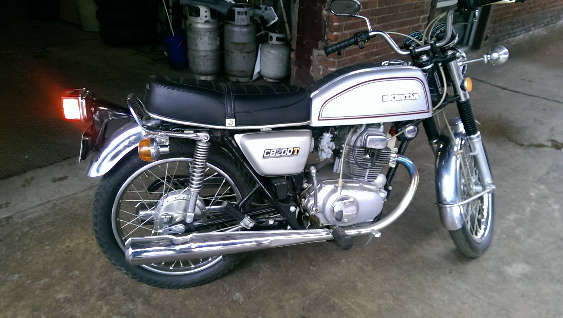 1975 Honda CB200T in Ashland, Kentucky - Photo 3