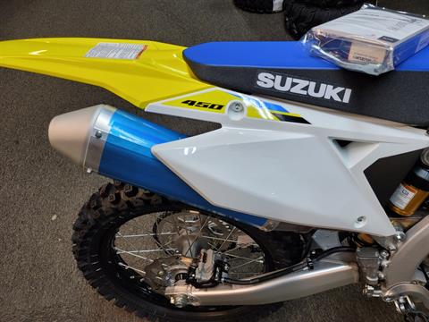 2021 Suzuki RM-Z450 in Ashland, Kentucky - Photo 2