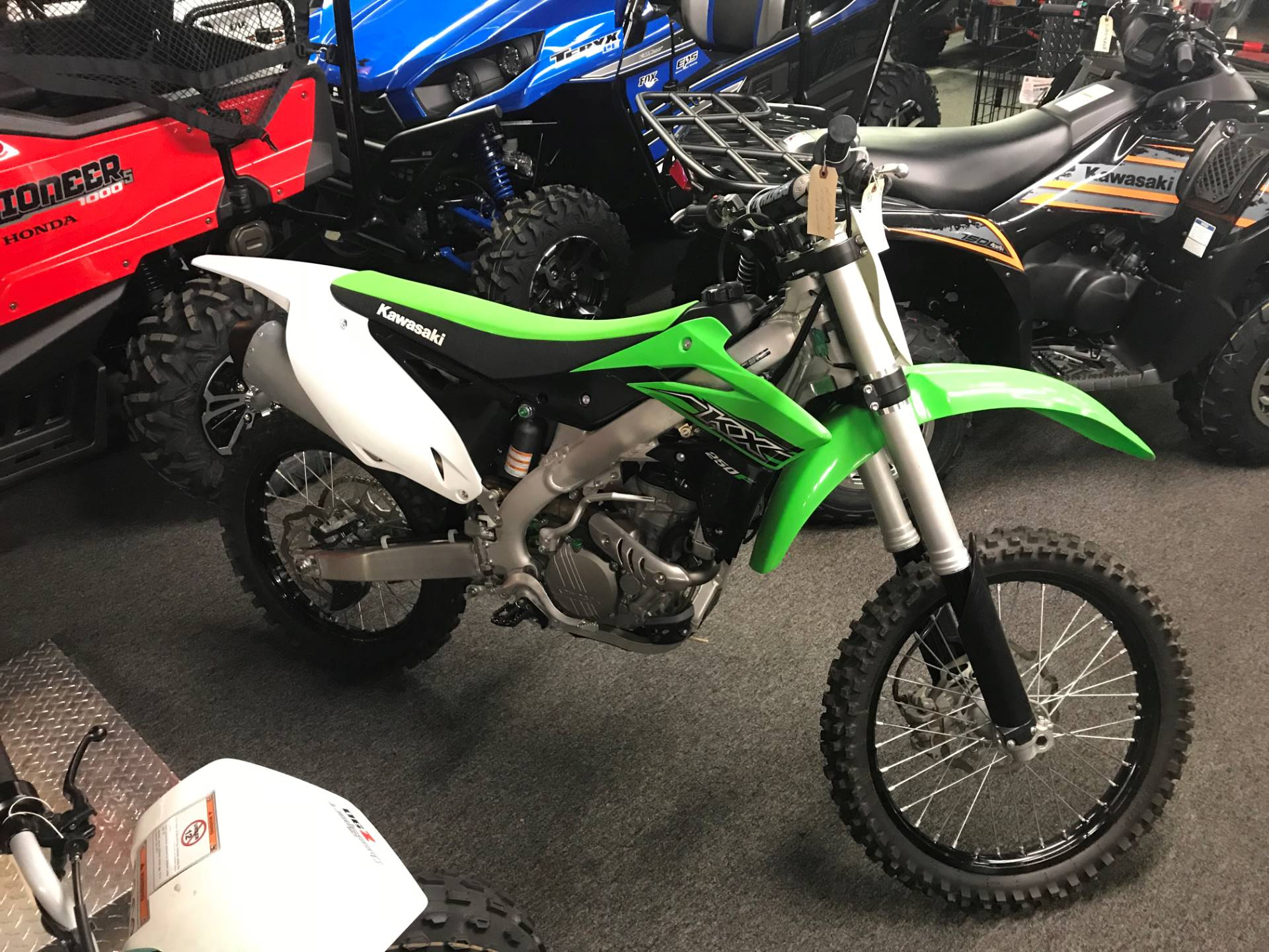 2015 Kawasaki KX™250F in Ashland, Kentucky
