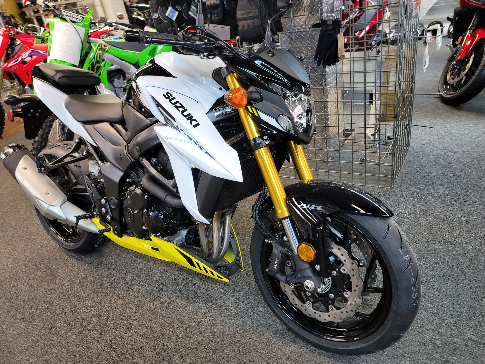 2021 Suzuki GSX-S750Z ABS in Ashland, Kentucky - Photo 4