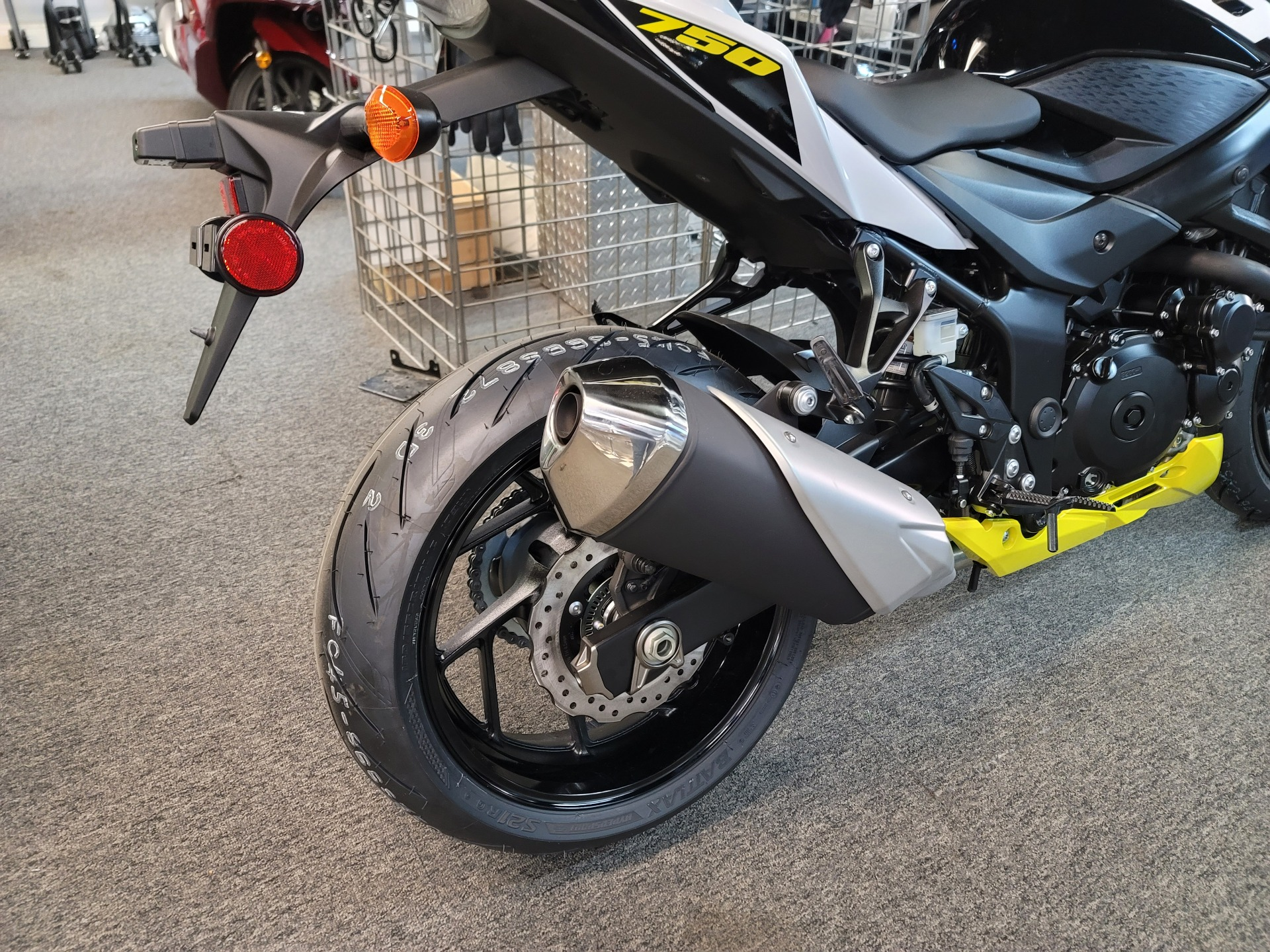 2021 Suzuki GSX-S750Z ABS in Ashland, Kentucky - Photo 7