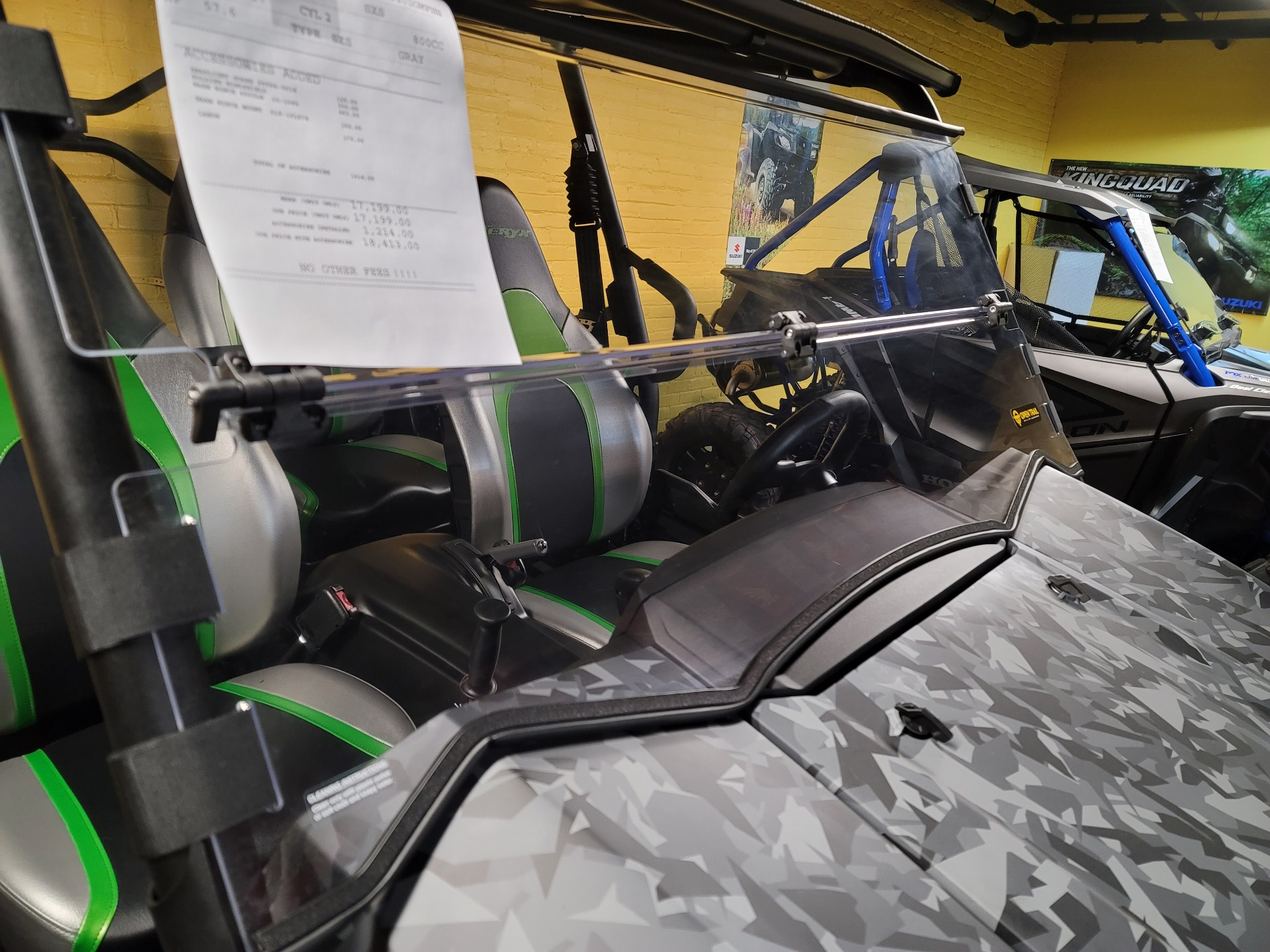2021 Kawasaki Teryx4 LE in Ashland, Kentucky - Photo 10