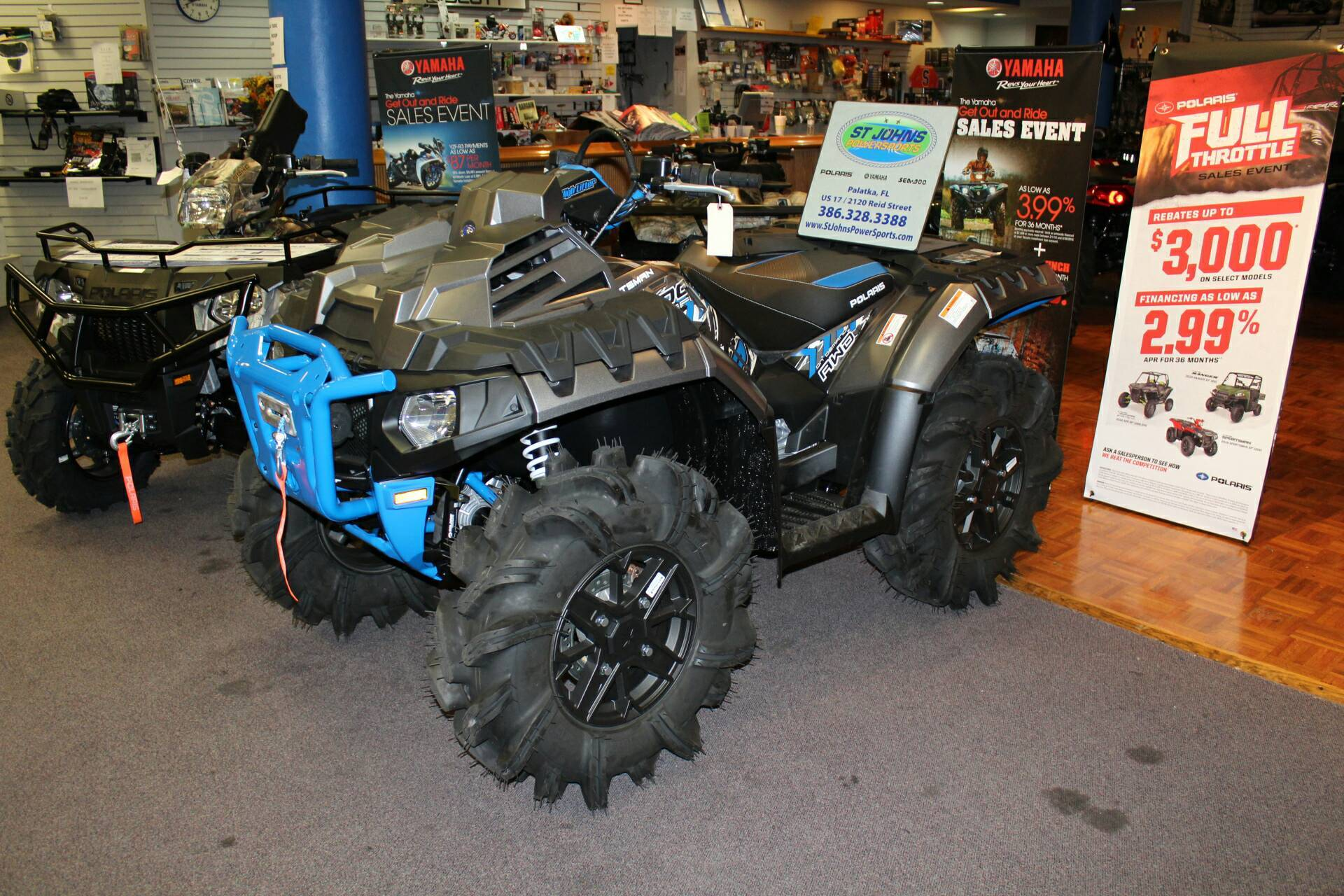 2017 Polaris Sportsman XP 1000 High Lifter Edition for sale 5542