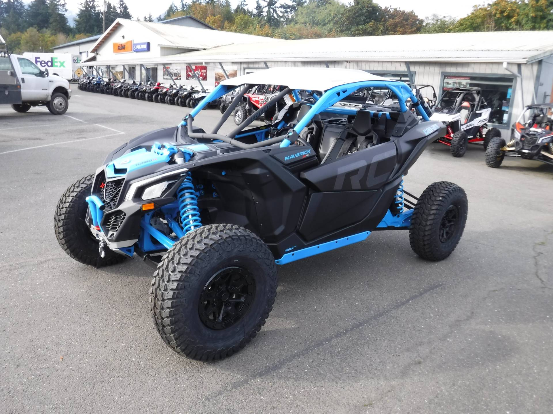 2019 Can-Am Maverick X3 X rc Turbo R in Port Angeles, Washington - Photo 1