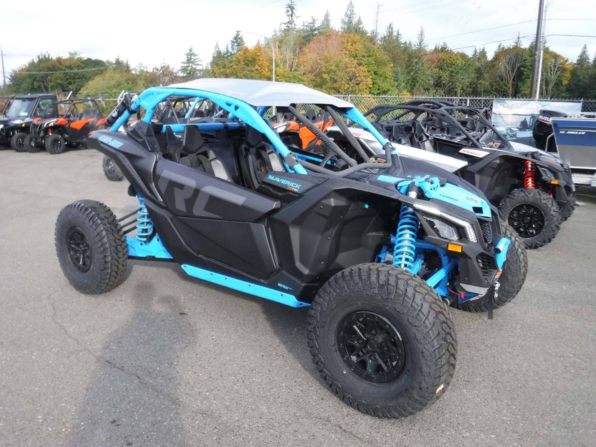 2019 Can-Am Maverick X3 X rc Turbo R in Port Angeles, Washington - Photo 3